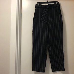 Wilfred Black Tie Front Pants